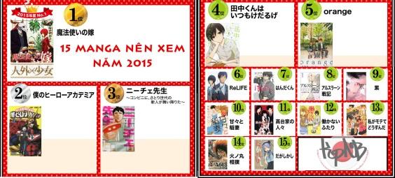 15 manga